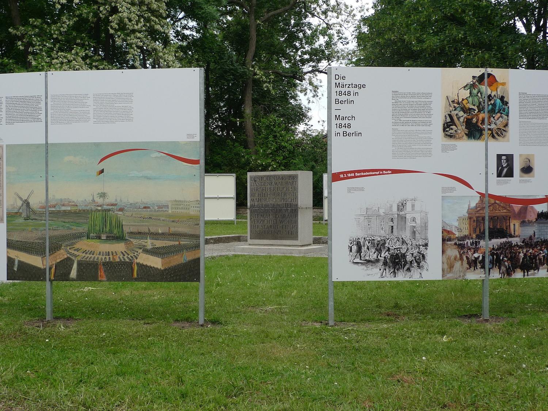 Rotunde auf dem Friedhof der Märzgefallenen